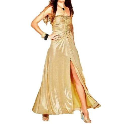 Apart Unbekannt Abendkleid, gold