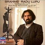 Brahms : 2 Rhapsodies Op.79 - Klavierstücke Op.117, 118 et119