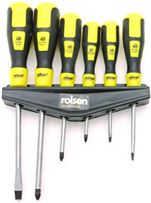 Rolson 28572 Screwdriver Set - 6 Pieces