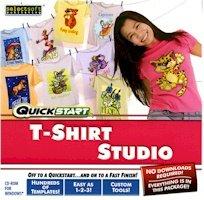 BRAND NEW Quickstart Quickstart T-Shirt Studio Text Transformation Gradient Fills Image Conversions