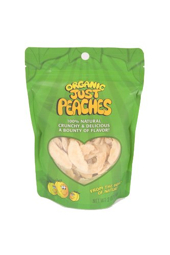 Just Tomatoes Organic Just Peaches, 2 Ounce Pouch (Pack of 3)