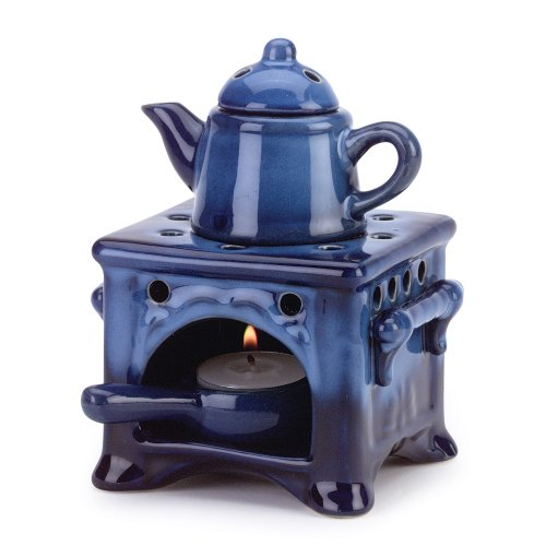 Gifts & Decor Country Kitchen Ceramic Kettle Stove Oven Oil Warmer (Oven Oil Warmer compare prices)