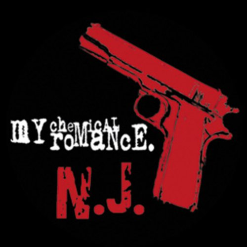 Licenses Products My Chemical Romance Pistol Sticker