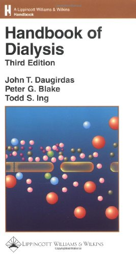 daugirdas handbook of dialysis latest edition