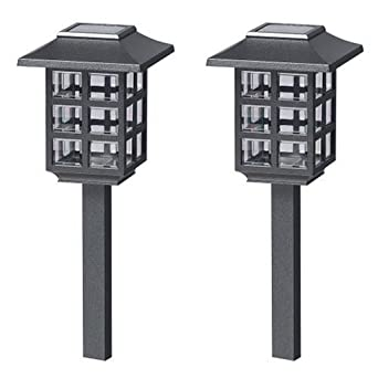 malibu outdoor one light solar powered mission lights. Black Bedroom Furniture Sets. Home Design Ideas