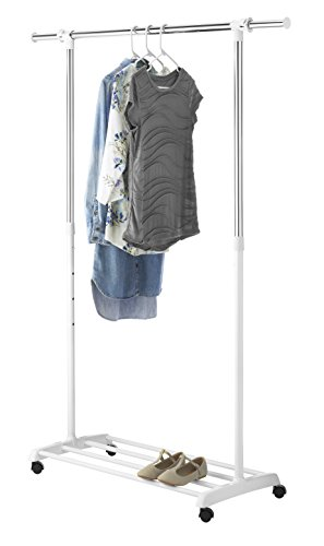 Whitmor 6024-5908-BB Deluxe Adjustable Garment Rack (Whitmor Rack compare prices)