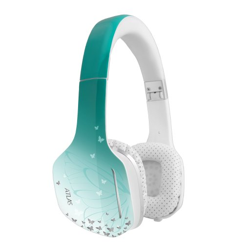 Meelectronics Atlas Fantasy Iml Graphics On-Ear Headphones With Headset Functionality