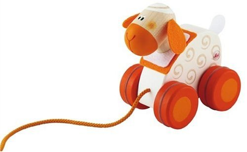 Sevi Mini Pull Along Toy, Sheep - 1