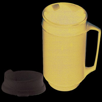 FAB601200 - Fabrication Enterprises, Inc. Weighted mug, no-spill lid 12 oz.