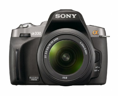 Sony Alpha DSLR-A330 (with 18-55mm Lens) is one of the Best Sony Digital Cameras for Photos of Children or Pets