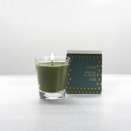 Illume Balsam & Cedar Demi Boxed Glass Candle