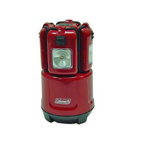 Coleman Micro Quad Led Lantern With Rechargeable Area
