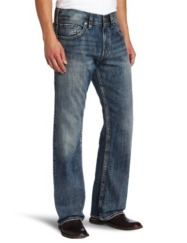 be6991f5 Silver Jeans Men's Zac Relaxed Fit Jean Indigo 29x30 Bestseller ...