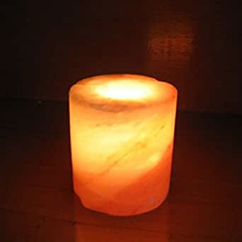 Himalayan Salt Lamps Authentic : Authentic Himalayan Salt Lamp - Cylinder Shaped - - Amazon.com