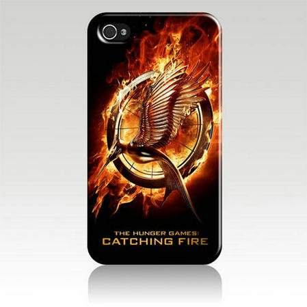 Hunger Games Catching Fire Movie Hard Case Skin for Iphone 5 At&t Sprint Verizon Retail Packaging
