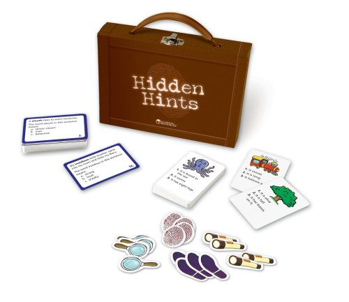 Learning Resources Hidden Hints - Context Clues Reading Comprehension Game