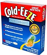 Zinc Gluconate Glycine, Cold Remedy, Tropical Orange Flavor, 18 Lozenges by Cold Eeze