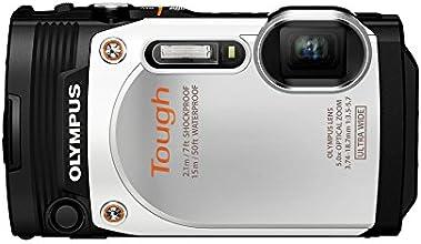 """Olympus TG-860 Appareil photo numérique étanche et tout-terrain 16 Mpix - Écran 3"""" - Zoom Optique 5x - Blanc"""