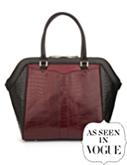 Autograph Leather Panelled Tote Bag