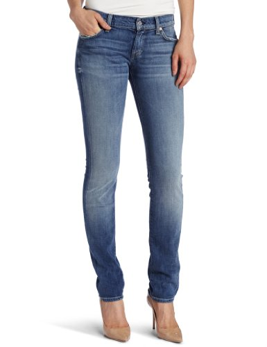 7 For All Mankind Women's Roxanne Slim Fit Jean, Classic Vintage Blue, 27