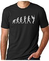 Guitar Player Evolution Funny T-Shirt Guitarist musician Tee