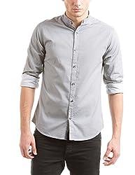 Shuffle Men's Casual Shirt (8907423018860_2021515001_Large_Grey)