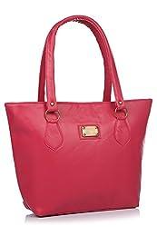 Utsukushii Women's Handbag (Pink,Bg1386C)