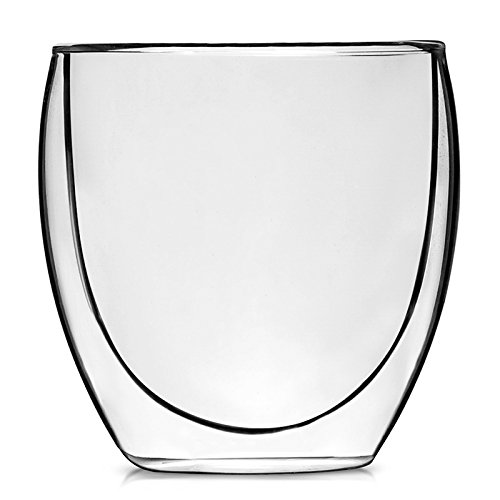 Teabox - Valencia Glass Teacup | Volume 8.45 fl oz (Double Walled Electric Kettle compare prices)