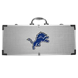 NFL Detroit Lions 8-Piece Barbecue Set by Siskiyou