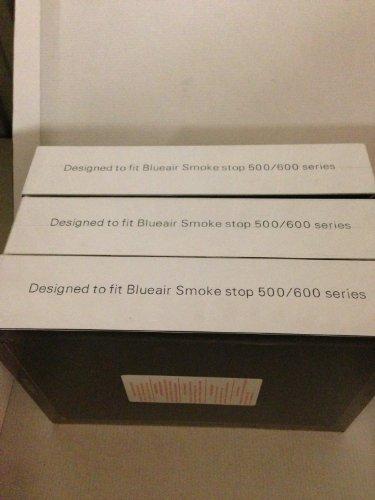 Set of 3 Air Purifier Filter fits ALL Blueair 500 Smoke stop air purifiers Designed & Engineered By Vacuum Savings