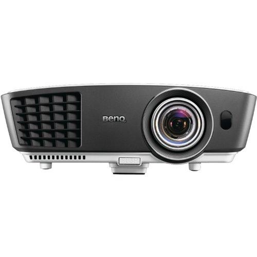 Benq W770St Short Throw 3D 720P Hd Dlp Home Theater Projector (White)
