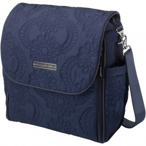 Fall 2012 Petunia Pickle Bottom Embossed Boxy Backpack Waterloo Stop