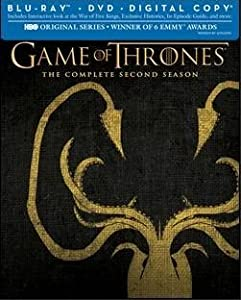 Game of Thrones The Complete Second Season Limited Edition GreyJoy Packaging (Blu-ray/DVD/Digital Copy)