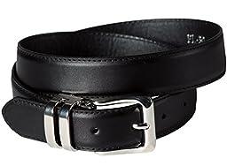 Boys Black Dress Belt