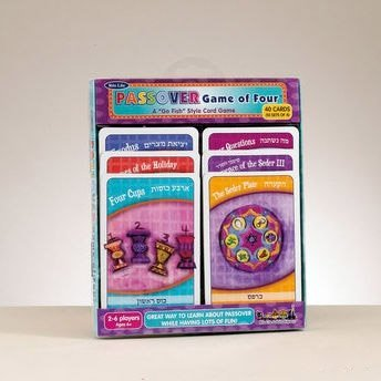 "Passover ""The Game of Four"" Card Game"