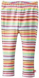 Zutano Baby Girls\' Super Stripe Skinny Legging, Multi, 18 Months