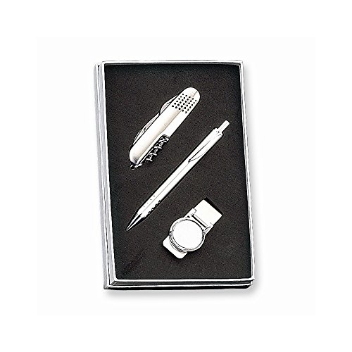 Jewelry Best Seller Pen, Knife And Money Clip Set