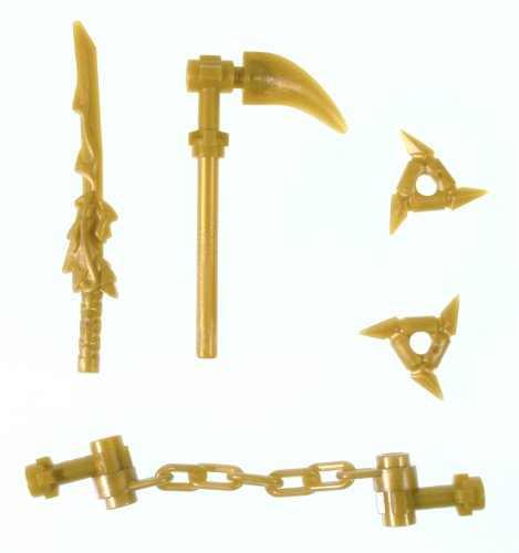 Lego Ninjago Gold Weapons Set