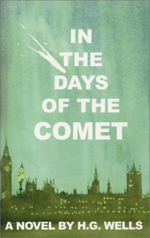 Large book cover: In the Days of the Comet