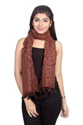 Dream Fashion Polyester Burn out scarf For Women