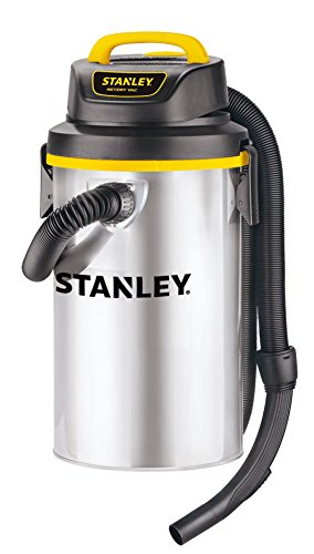 Stanley Wet/Dry Hanging Vacuum, 4.5 Gallon, 4 Horsepower, Stainless Steel Tank (Cordless Flexible Vac compare prices)