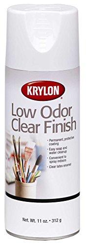 Krylon 11-Ounce Low Odor Clear Matte Finish Aerosol Spray (Krylon Matte Sealer compare prices)