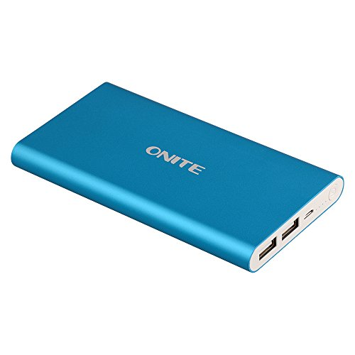 Onite コンパクト 急速充電 10000mAh 大容量 モバイルバッテリ...
