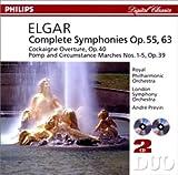 エルガー:交響曲第1番&第2番/プレヴィン