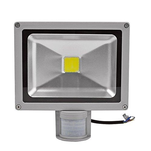 10 Pcs 20W Led Low Energy Motion Activated Pir Sensor Security Floodlight Cool White Led Flood Light