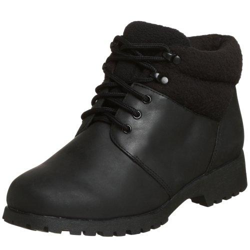 Propet Women's WB006 Snow Walker Weather Shoe,Black,7 M (US Women's 7 B)