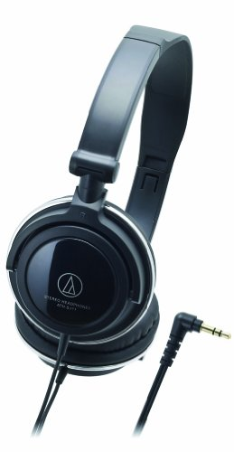 Audio Technica Ath-Sj11 Audio Headphones, Black