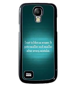 Printvisa 2D Printed Quotes Designer back case cover for Samsung S4 Mini - D4555