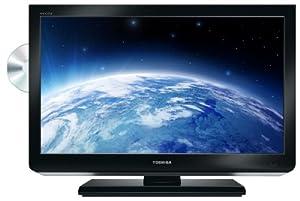 Toshiba 26 DL 833G , Televisión combo con DVD, HD Ready, Pantalla LED 26 pulgadas
