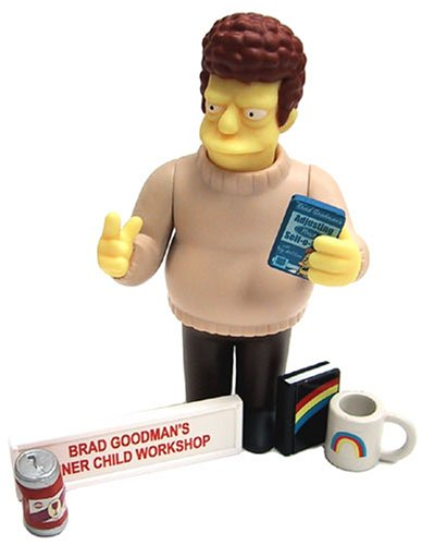 Simpsons All Star Voices 2 Brad Goodman Action Figure by The Simpsons - 1
